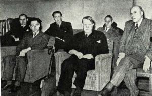 Lunde, Quisling og Sinding april 1942